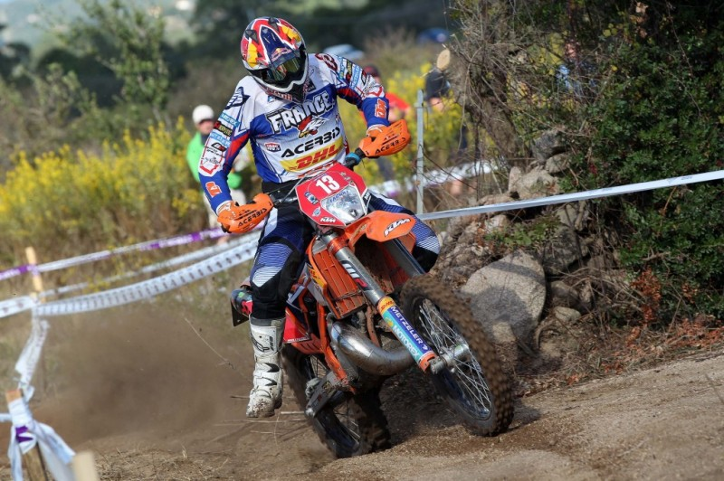 2013 ISDE Overall Leader - Antoine Meo