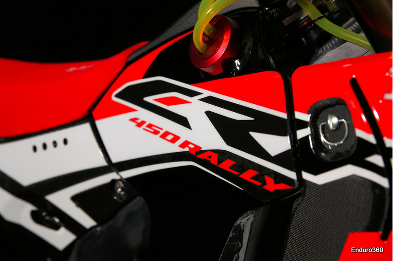 New HRC Honda Rally Bike