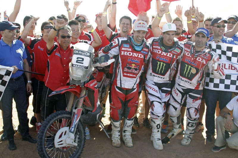 Goncalves wins Oilybia Morocco Rally