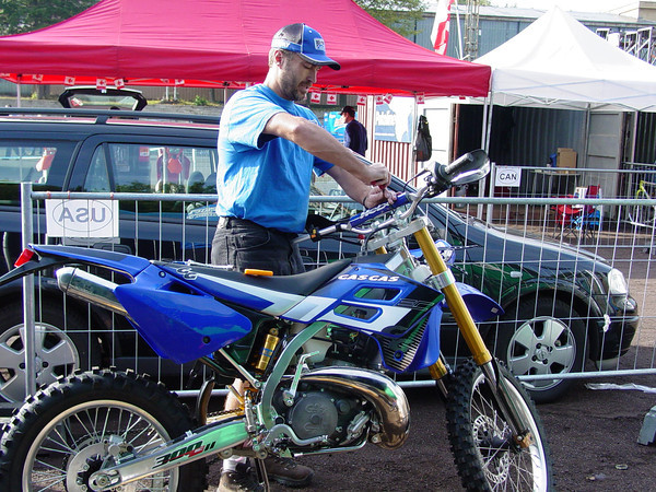 Gas gas ec300 I was supposed to ride