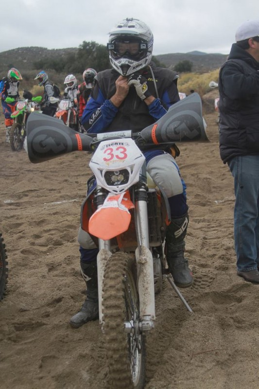 on the line for Tecate Hare Scrambles
