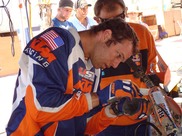 Kurt & Rich Caselli at 2007 ISDE Chile
