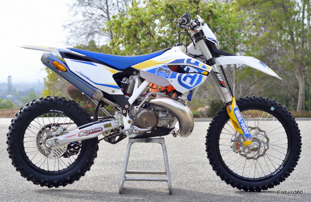 2014 Husqvarna TE300 with factory graphics