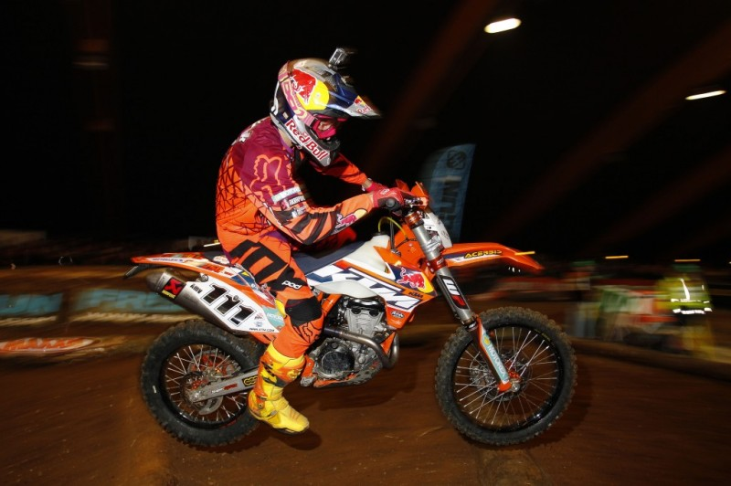 Taddy win Super Enduro Championship