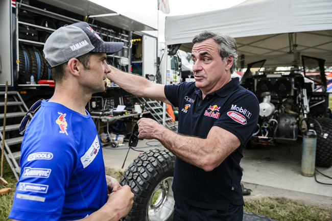 Cyril Despres and Carlos Sainz  - Lifestyle
