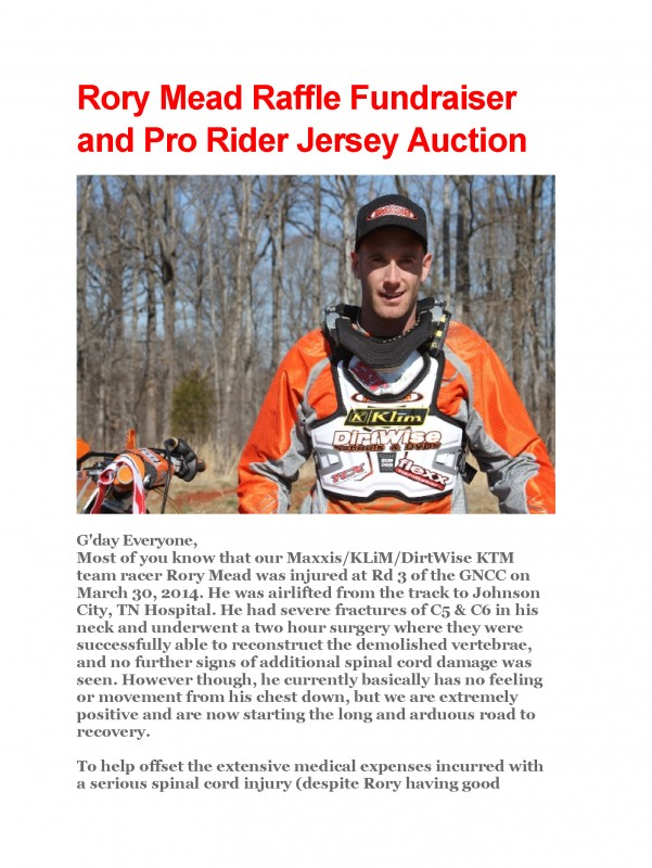 Copy of Rory Mead Raffle Fundraiser and Pro Rider Jersey Auction01