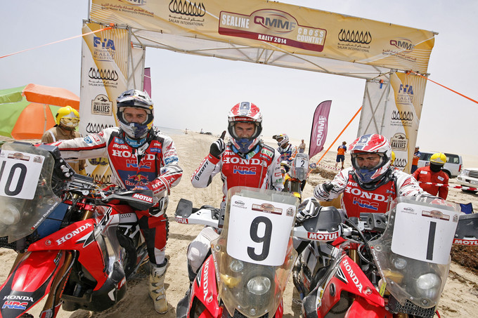 Joan Barread takes title at Sealine Cross-Country Rally in Qatar