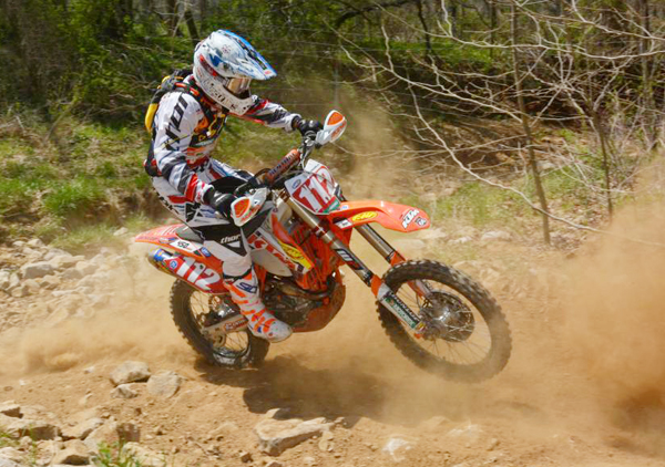 Mullins was back on track with another overall win and recaptured the series point lead
