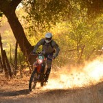 3rd place finish at baja rally