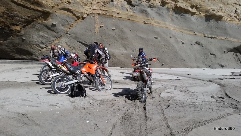 testing and riding with friends