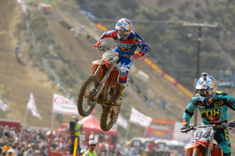 Dungey and Roczen battle at glen helen