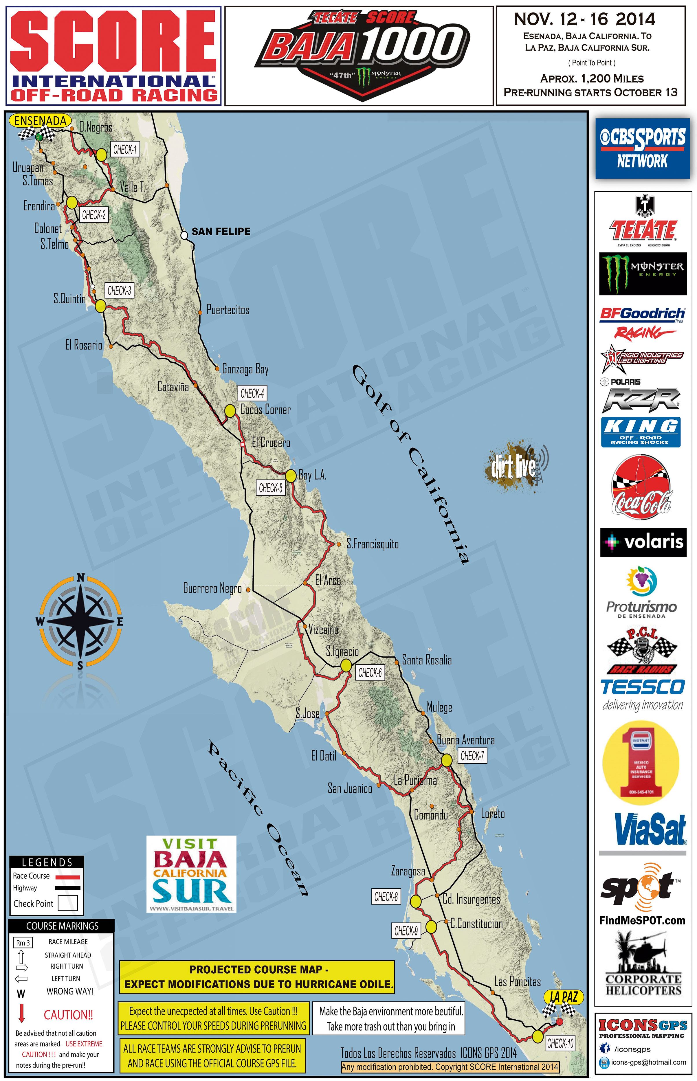 Our rd to make history- Baja 1000,2017- 50th Anniversary ...