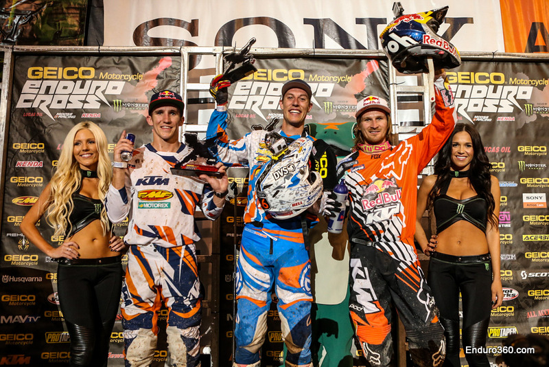 Salt Lake City Endurocross Podium