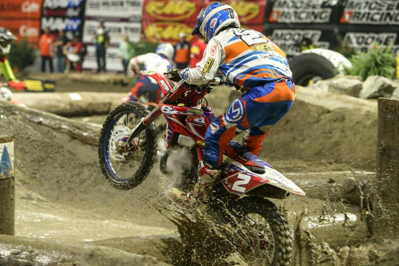 Webb carries the red plate into the eighth round in Boise!