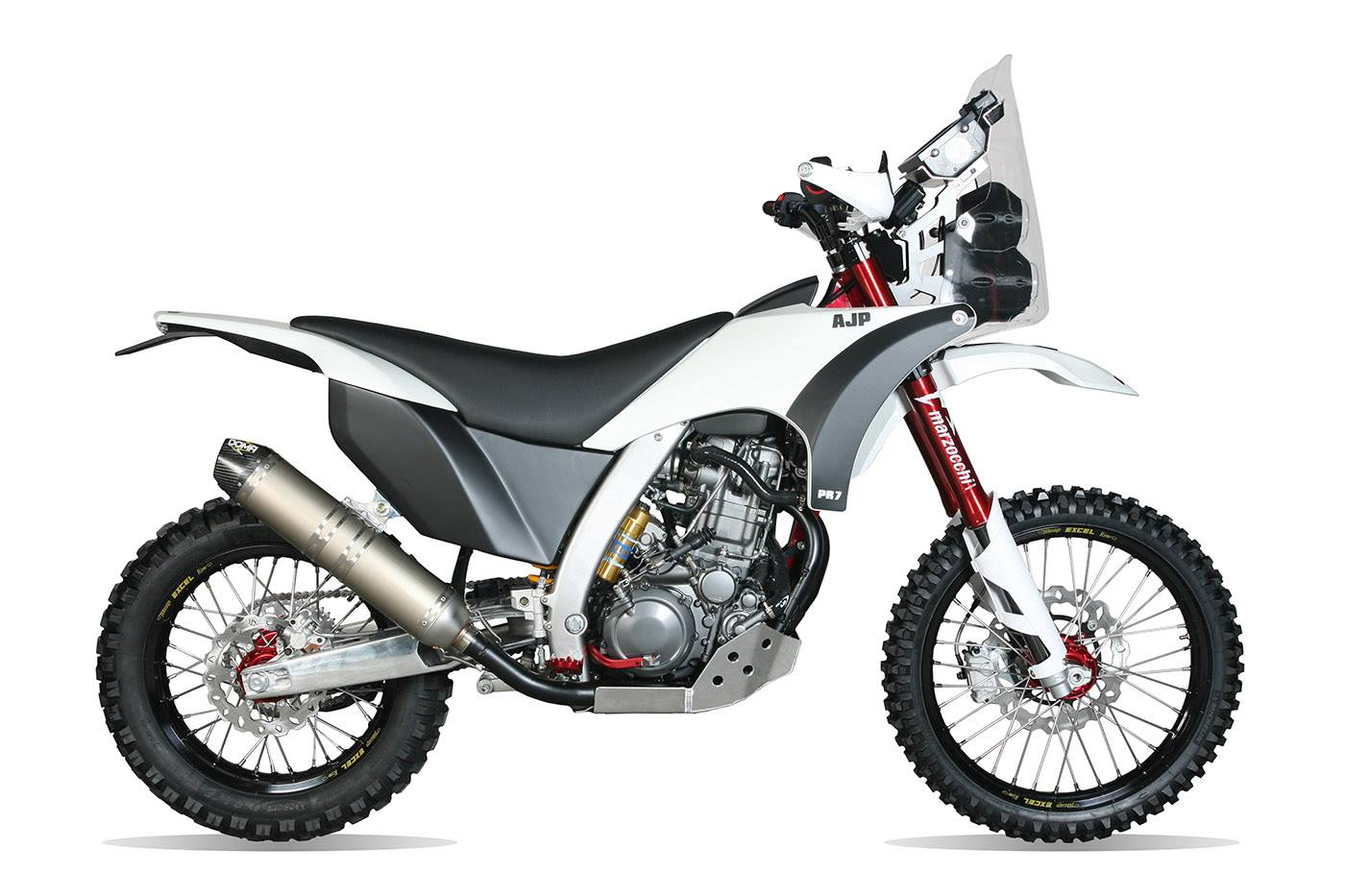AJP PR7 rally bike