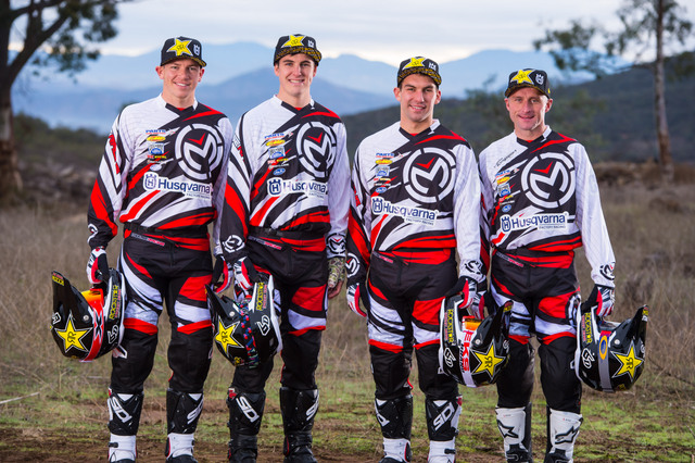 Rockstar Energy Husqvarna Factory Racing - Off-road Team