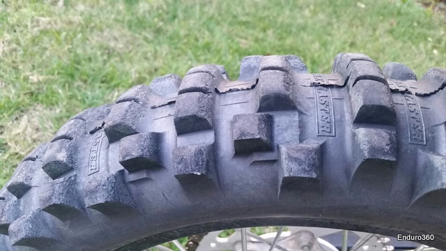 Kenda Trakmaster rear, one of the most under rated dry terrain tires