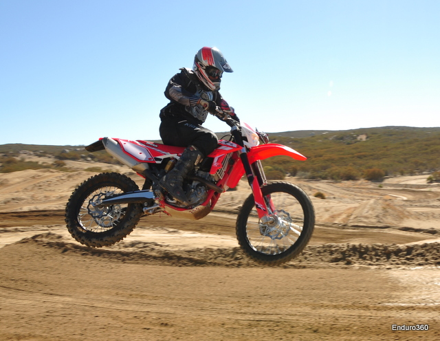 Track time can be lots of fun on the 390rr
