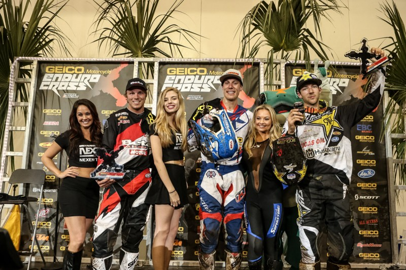 Webb Redmond and Haaker Podium at Daytona