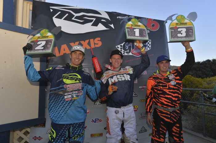 Gorman Big 6 Podium